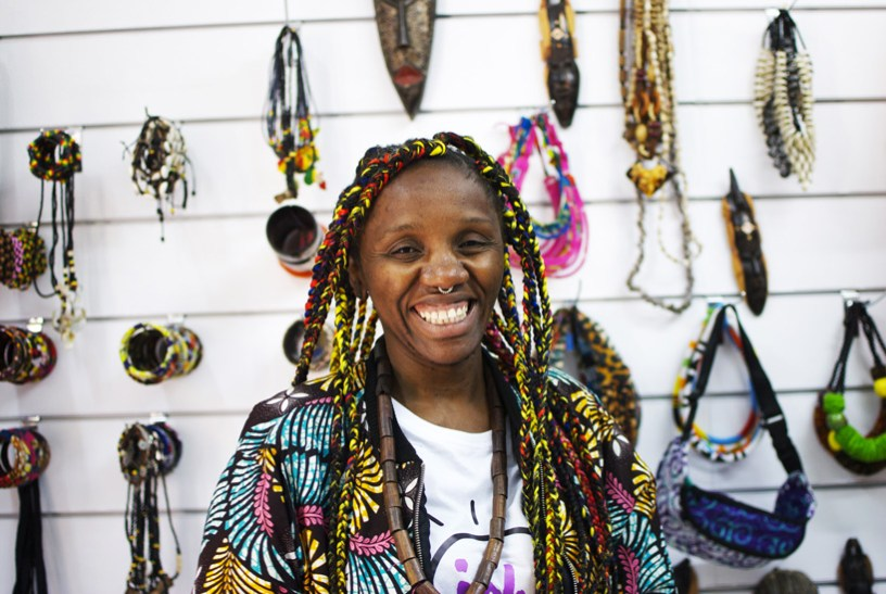 Becha nació en Congo y vive en Madrid