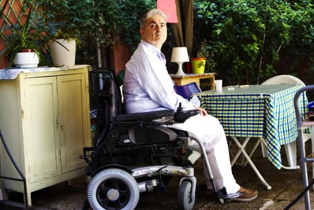 Carlos Vidal Massanet tiene paraparesia espástica familiar