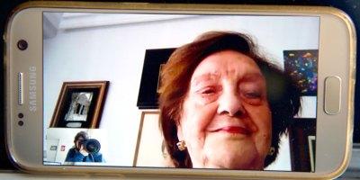 Concha Guervós de la Fuente afronta con 88 años la crisis del coronavirus sintiéndose joven