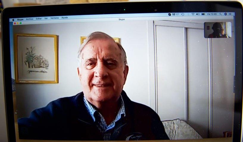 Vicente Fernández González es persona de riesgo por el coronavirus, vive solo y tiene 79 años