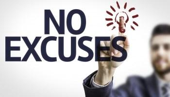 5 excusas comunes que evitan que hagas lo que quieres