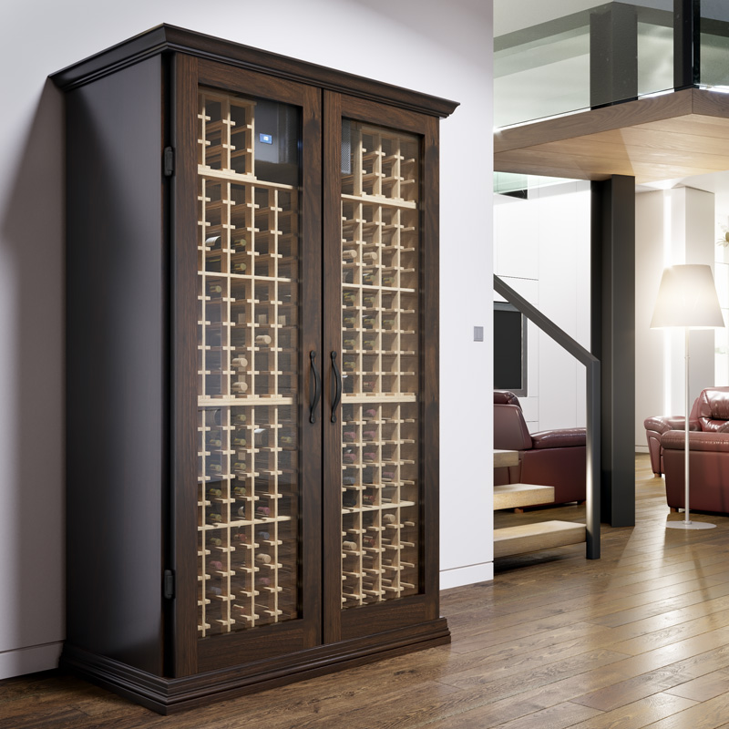 Semi Custom Wine Cabinets Built For Your Budget
