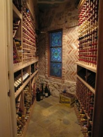 Brick with Stained Glass Cellar