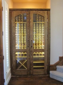 Ash Conditioned Wine Cabinet