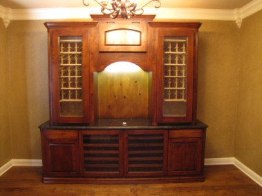 Conditioned Wine Hutch
