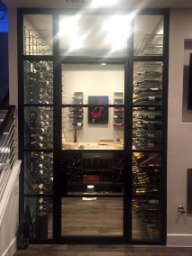 All Metal Wine Cellar