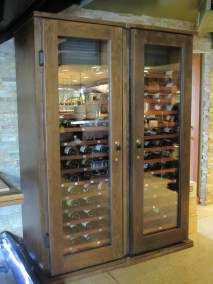 Storefront Wine Cabinet