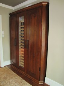 Unique Wine Cabinet