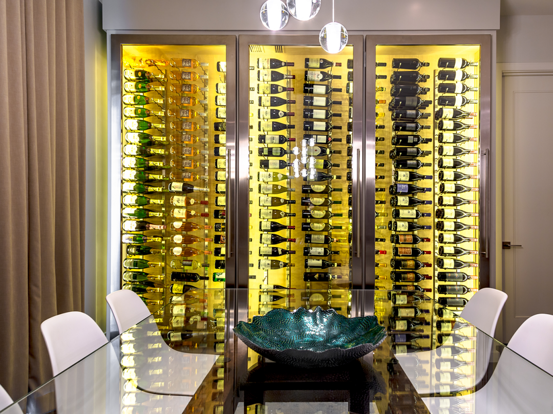 Conditioned Wine Cabinets