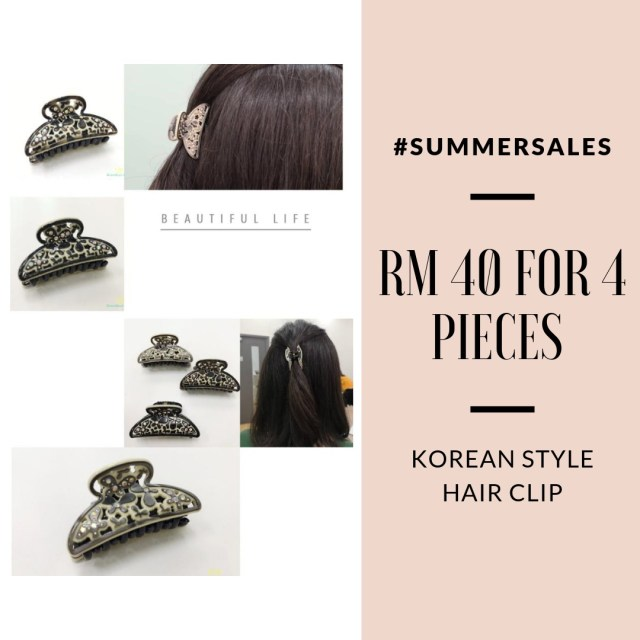 print-hair-band-clips-ladies-accessories-beauty-make-up-pretty-korean-style-lovisa-evita-july-summer-sale-grandeur-gifts-malaysia-online-shopping-unique-gift-ideas