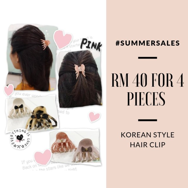 ribbon-hair-band-clips-ladies-accessories-beauty-make-up-pretty-korean-style-lovisa-evita-july-summer-sale-grandeur-gifts-malaysia-online-shopping-unique-gift-ideas