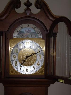 Colonial Of Zeeland Grandfather Clock Model 16981