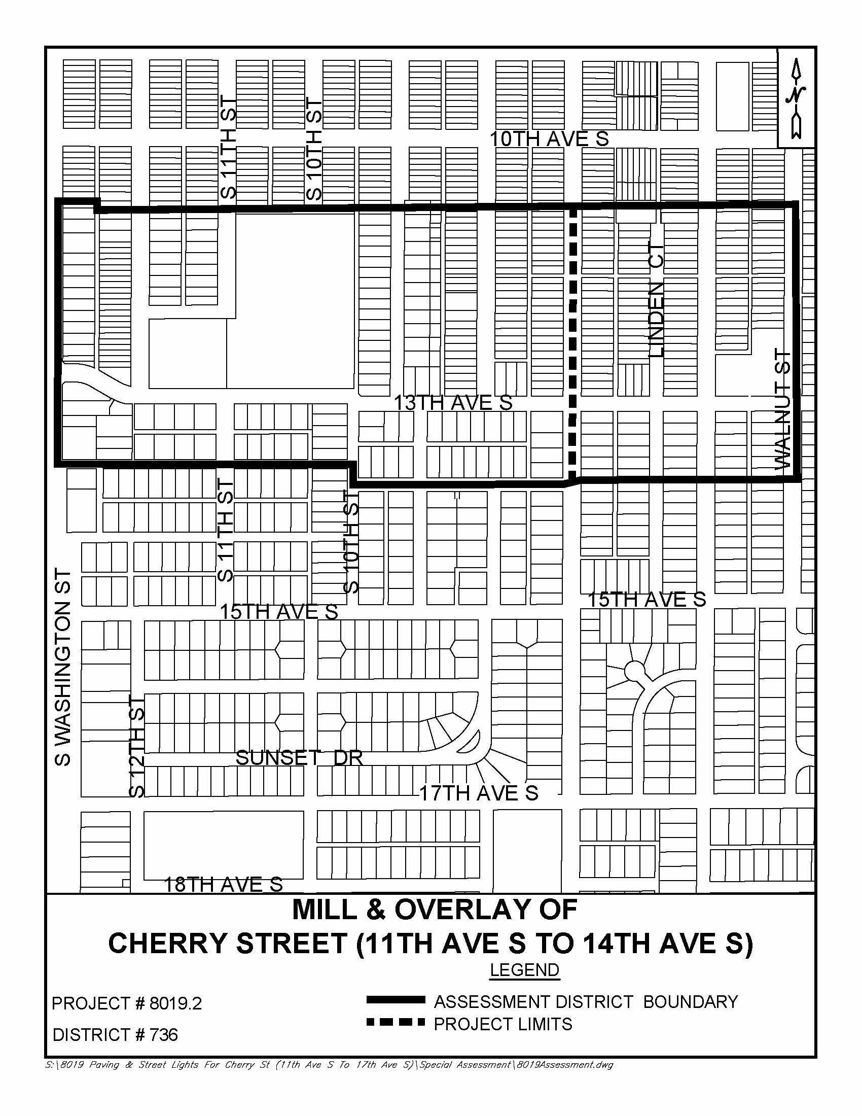 hight resolution of cherry st mill overlay