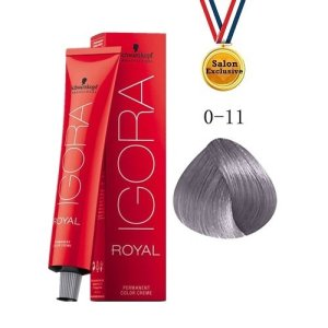 SCHWARZKOPF IGORA ROYAL COLOR CREAM 60ml - 0-11