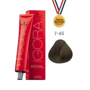 SCHWARZKOPF IGORA ROYAL COLOR CREAM 60ml - 7-65