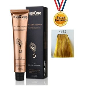MAXCARE COLLAGEN 2in1 COLOR 100ml - G-33