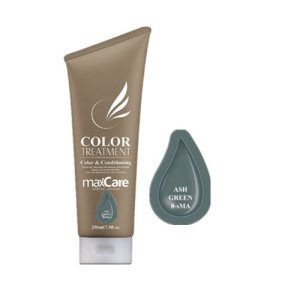 Maxcare Color Treatment ASH GREEN 250ml (8-sMA)