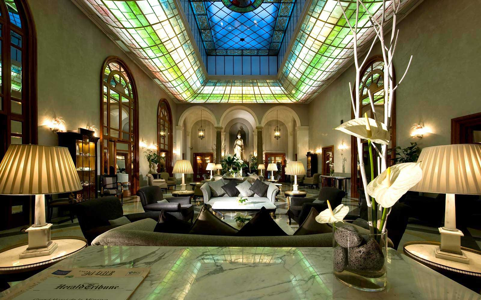 5 Star Hotel in Rome  Grand Hotel de La Minerve