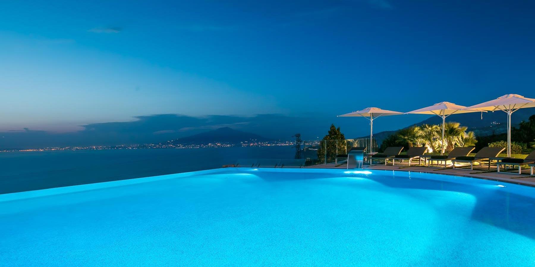 Grand Hotel Due Golfi  Hotel panoramico a Sorrento con piscina  Capodanno a Sorrento