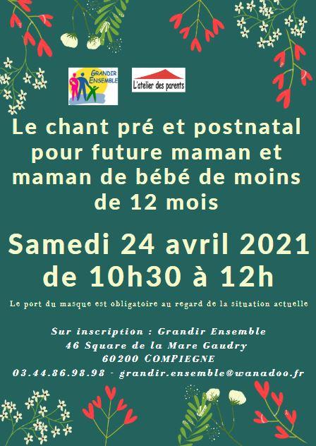 Chant prénatal du 24 avril 2021