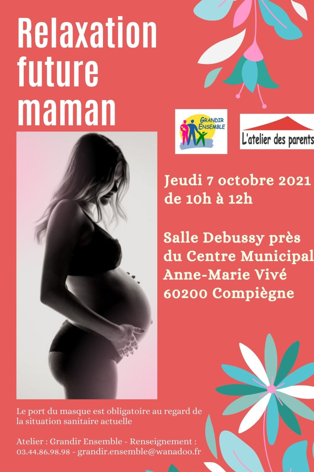 Relaxation future maman du 7 octobre 2021 S. Debussy