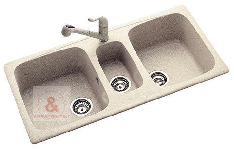 Lavello incasso fragranite  Boiserie in ceramica per bagno