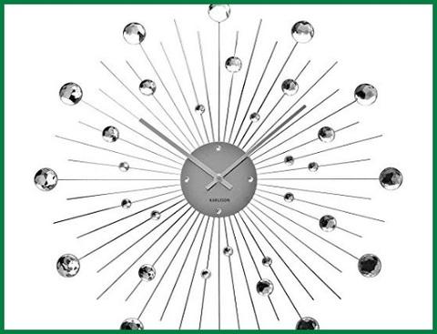Orologio da parete adesivo con schiuma eva tridimensionale, mostra un effetto 3d.specchio acrilico, strappa la pellicola. Orologi Da Parete Design Moderno Acciaio Grandi Sconti Orologi Da Parete