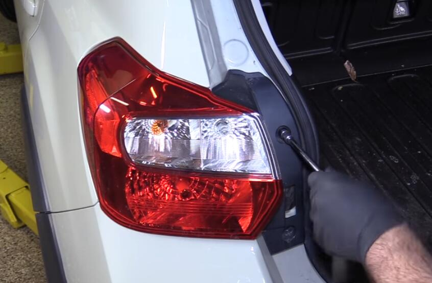 Taillight on Honda Accord