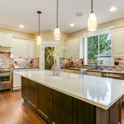 5 Drawer Kitchen Base Cabinet Modern Island Crème Maple Glazed (a7)
