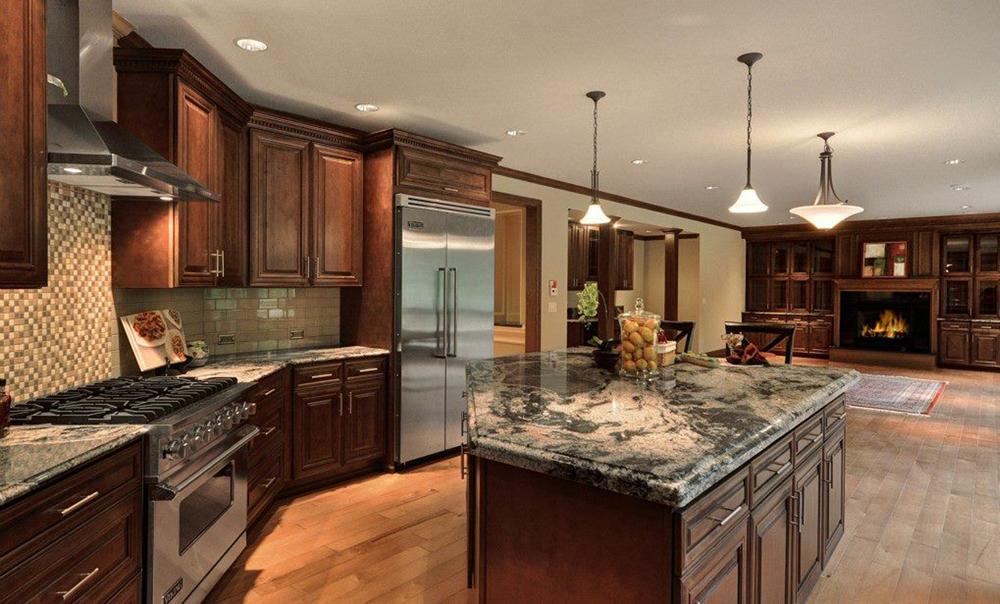 european kitchen cabinet hardware furniture for chocolate maple glazed (m01)