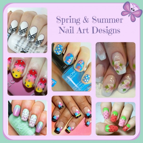 Summer Eid Fitr Nail Art Designs Colors For