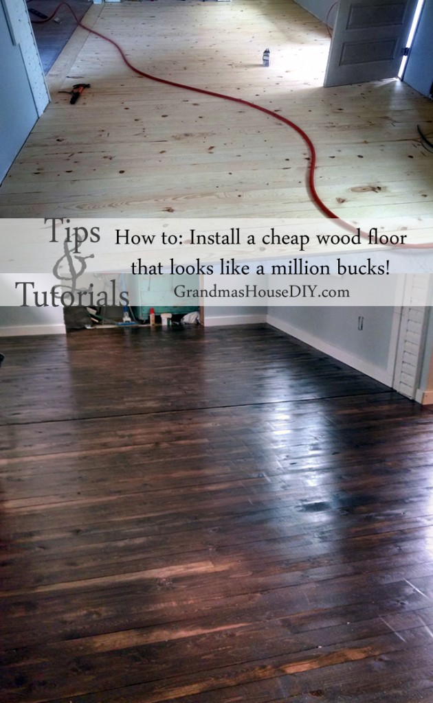 Ripping Plywood For Flooring