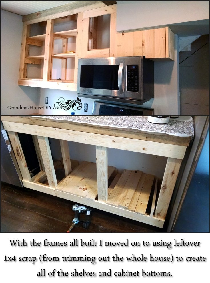 u build kitchen cabinets how to build your own kitchen cabinets blogher 27427