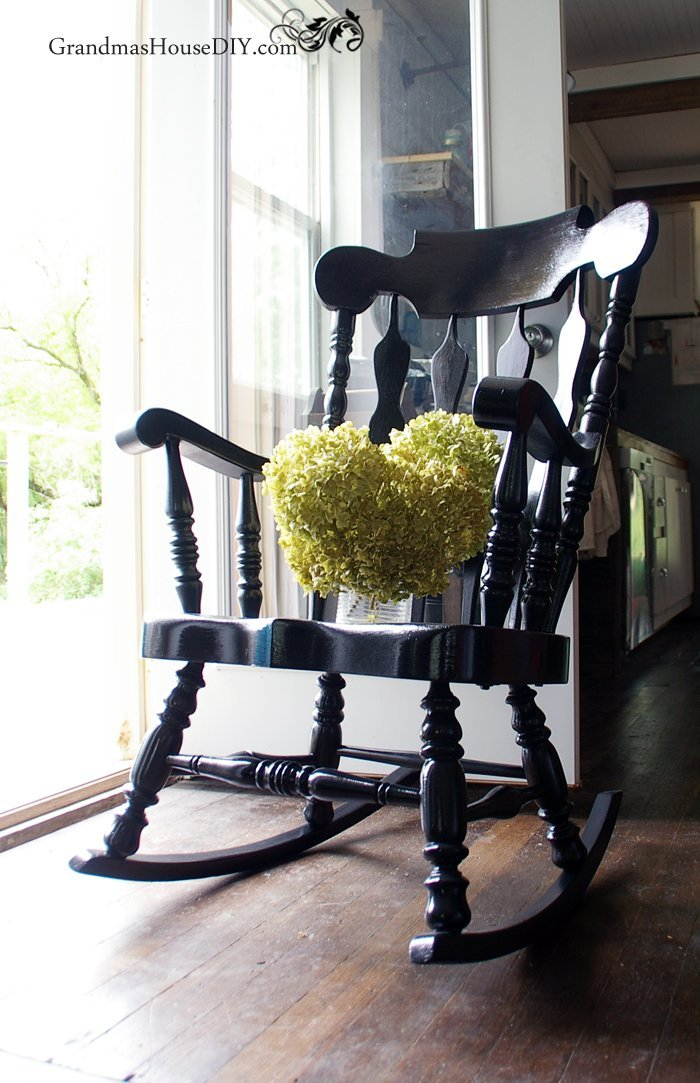 black rocking chairs christopher knight painted chair goes from dated to stunning gets a before and after makeover with