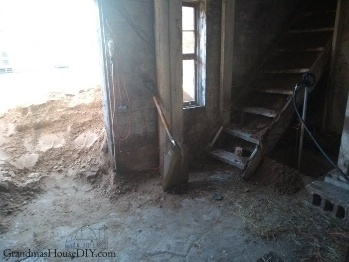 Filling In A Basement With Dirt