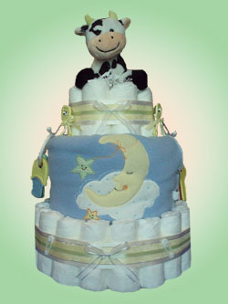 Nursery Rhyme Diaper Cakes