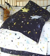Starry Night Crib Bedding