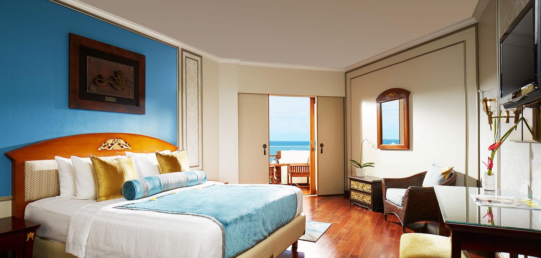 Premiere Ocean New Deluxe Ocean Room at Bali Hotel Grand Mirage