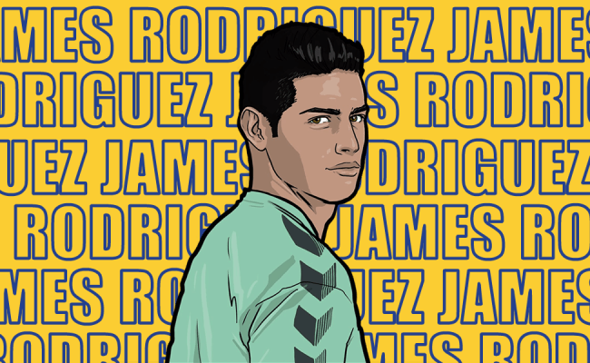 James Rodriguez Signs For Everton Grandoldteam