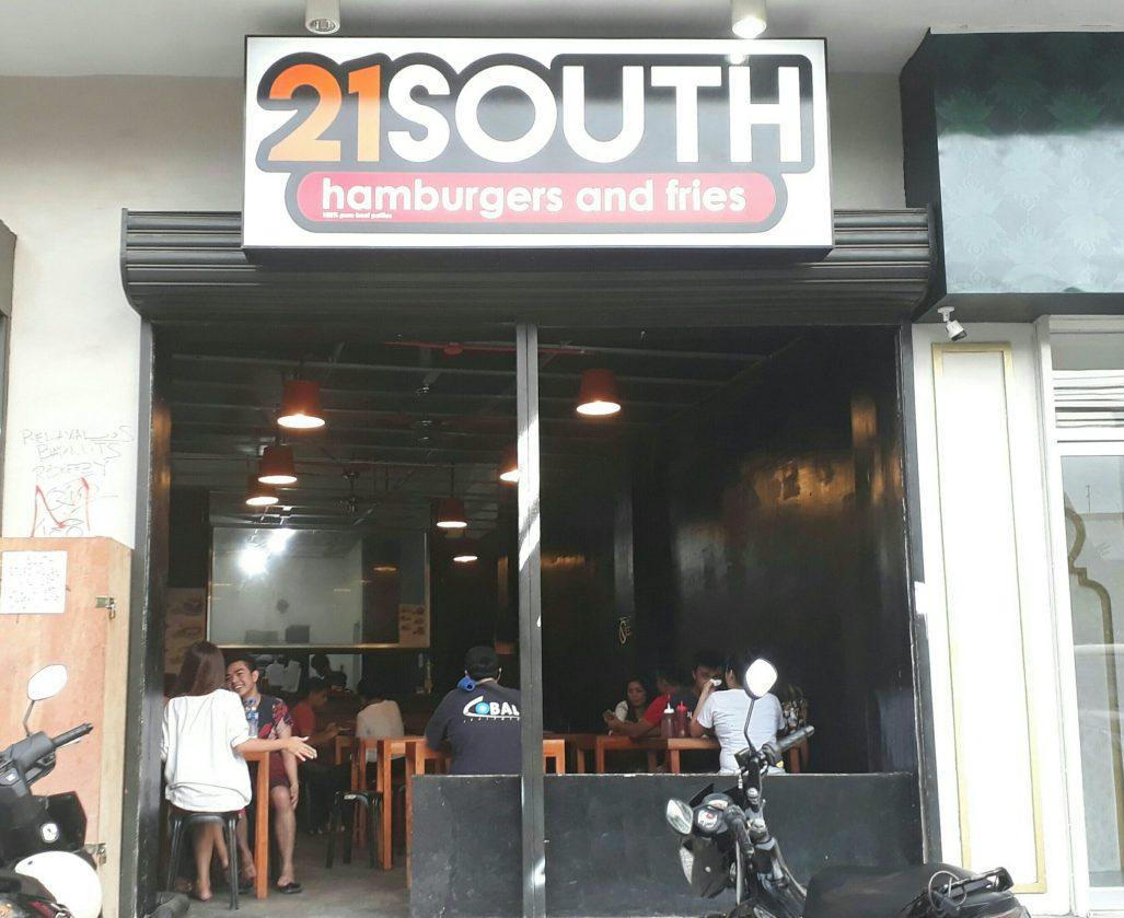 21 south burger