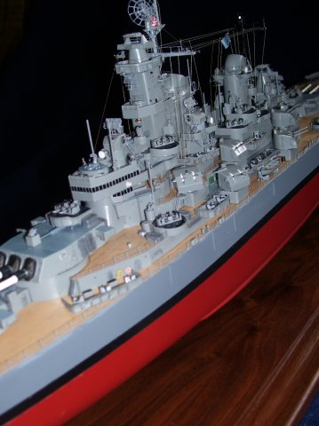 USS Missouri Close Up