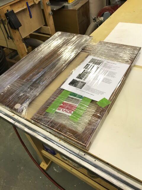 Custom Display Case Kit Assembled