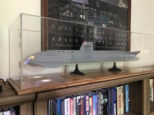 Futuristic Submarine display case