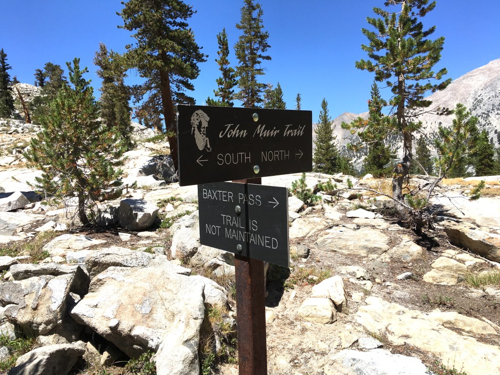 Etched anodized aluminum signs of the John Muir Trail and Inyo National Forest. Photo credit: Brien Crothers