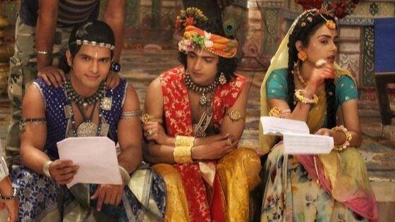 Basant Bhatt with mallika and sumedh