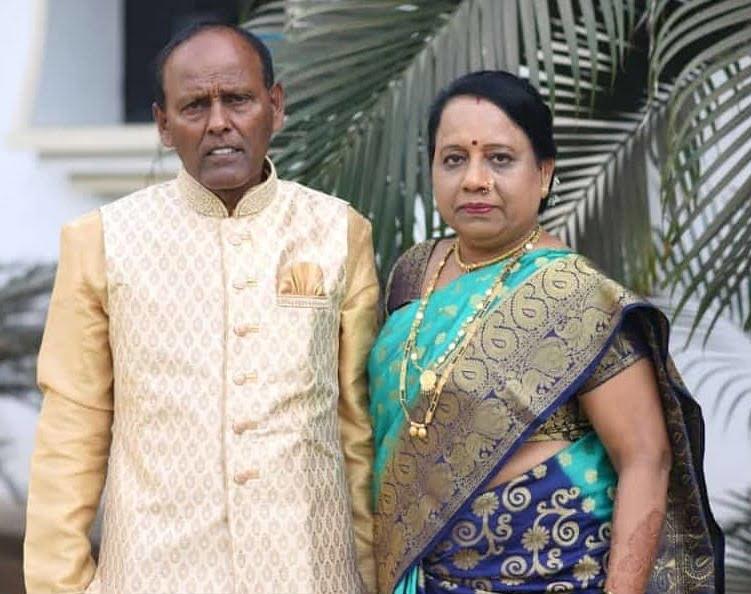 Dharmesh Yelande parents
