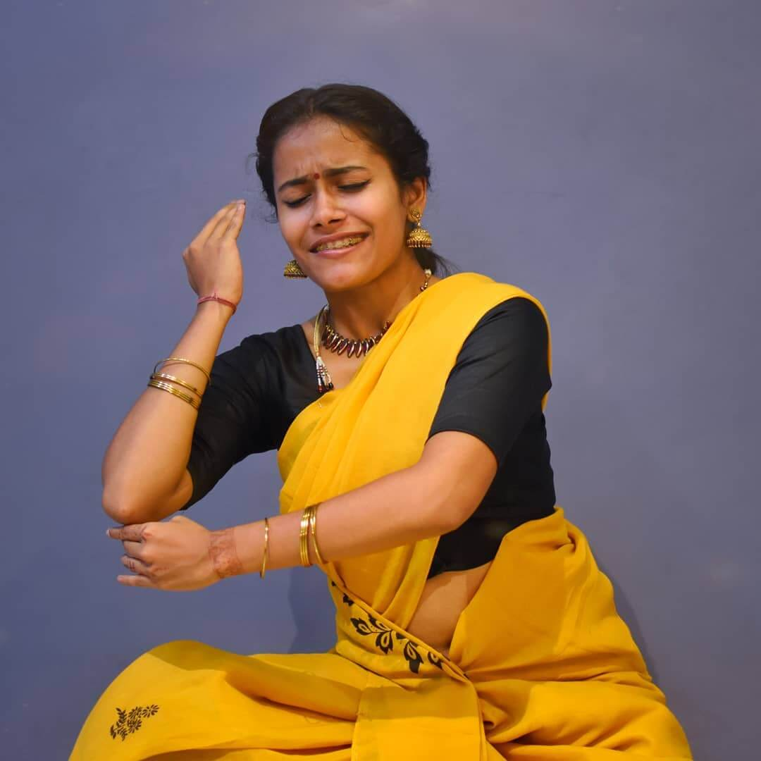 Swetha Warrier in dance india dance