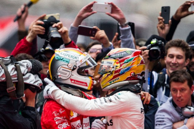 Image result for vettel hamilton