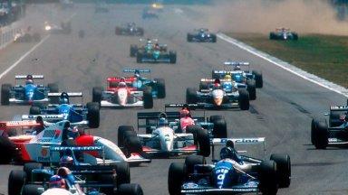 """Résultat de recherche d'images pour """"F1 1994 hockenheim verstappen benetton"""""""