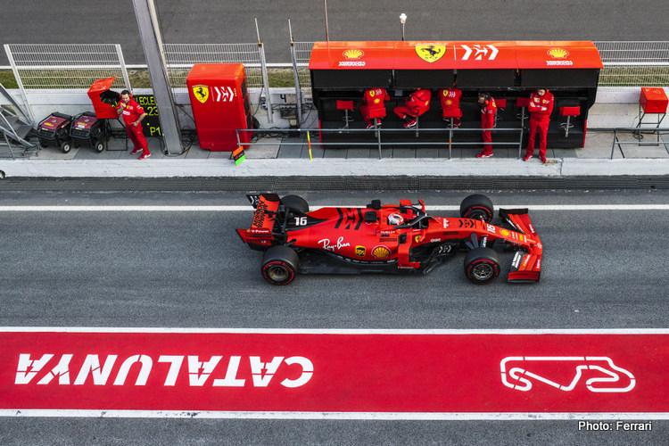 Barcelona test 1: Complete driver line-ups